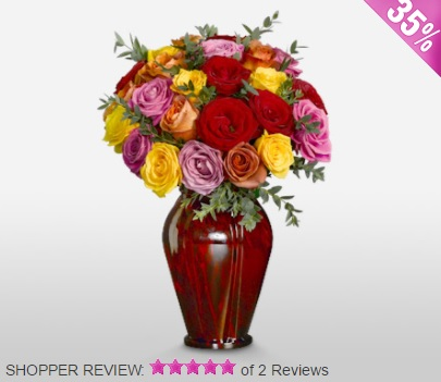 Luxury bouquets available, with free vases, discounts and customer reviews.
