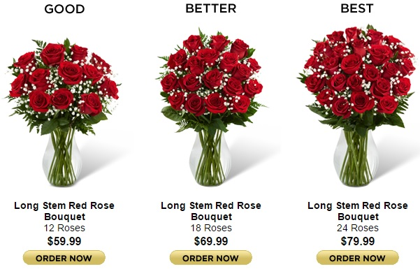 Upgrade your bouquets for extra impact.