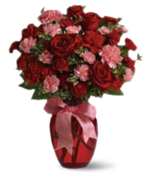 Special bouquets including roses.